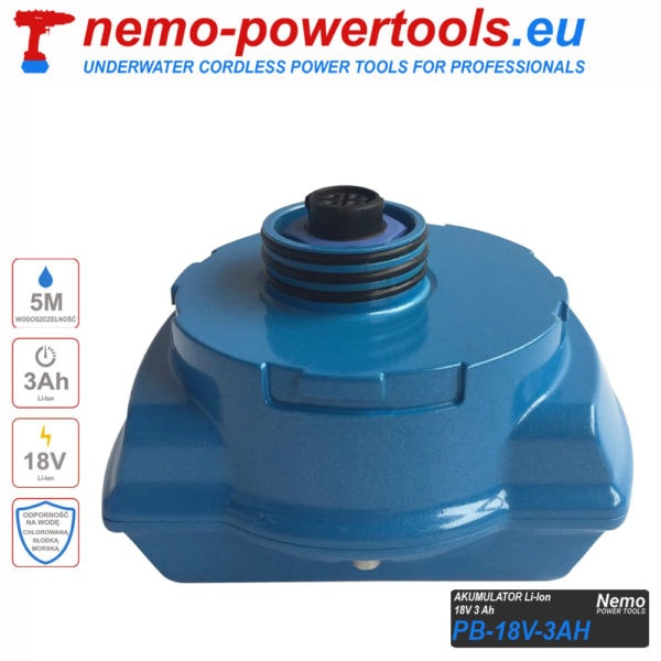 Akumulator do narzedzi Nemo Power Tools 3 Ah 18V