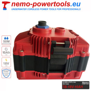Akumulator do narzedzi Nemo Power Tools 10 Ah 18V