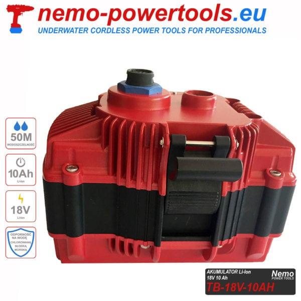 Akumulator do narzedzi Nemo Power Tools 10 Ah 18V