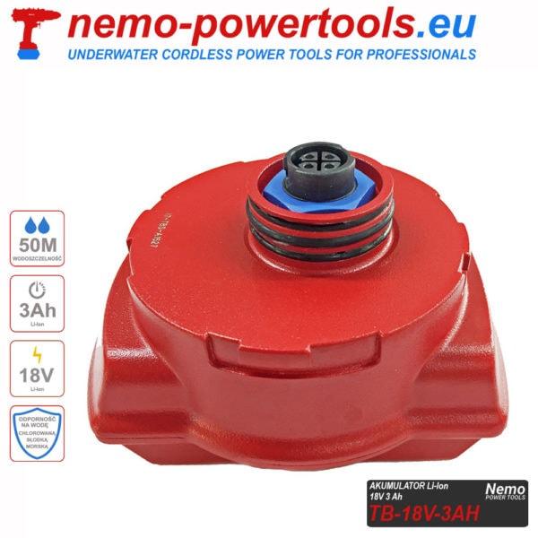 Akumulator do narzedzi Nemo Power Tools 3 Ah 18V