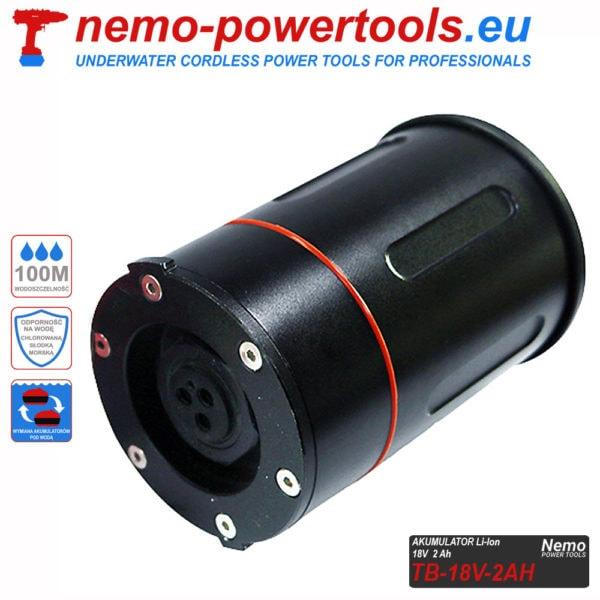Akumulator do narzędzi Nemo Power Tools 2 Ah 18V