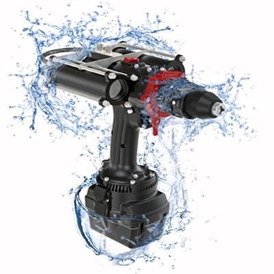 Wkrętarka wiertarka akumulatorowa do pracy pod wodą