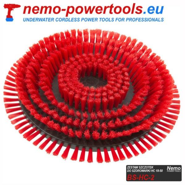 Szczotki czyszczące do szorowarki kadłubów Nemo Power Tools