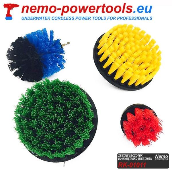 Szczotki czyszczące do wkrętarek Nemo Power Tools